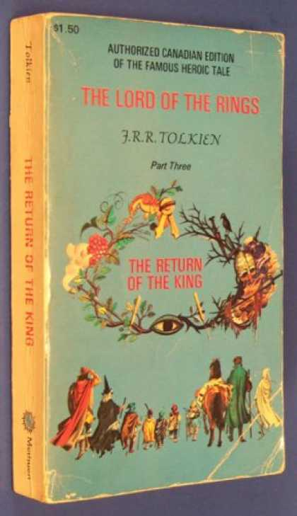 J.R.R. Tolkien Books - The Return of the King
