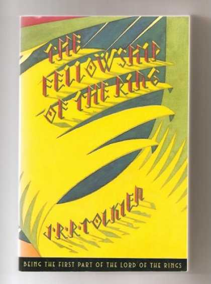 J.R.R. Tolkien Books - The Fellowship of the Rings (being the first part of The Lord of the Rings) (The