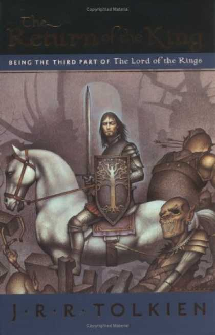 J.R.R. Tolkien Books - The Return of the King: Being the Third Part of The Lord of the Rings
