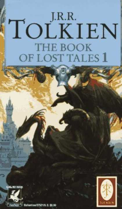 J.R.R. Tolkien Books - The Book of Lost Tales 1(The History of Middle-Earth, Vol. 1)