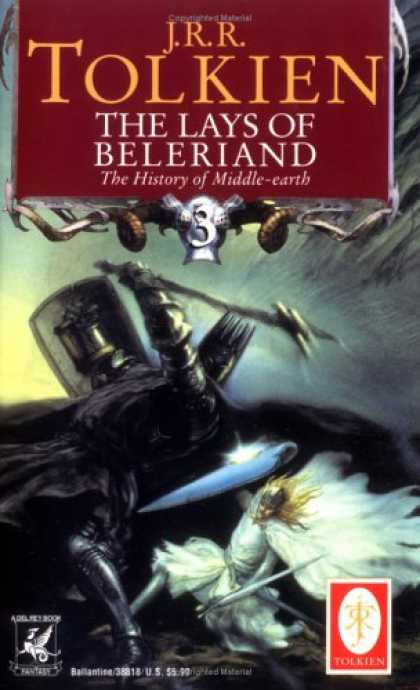 J.R.R. Tolkien Books - The Lays of Beleriand (The History of Middle-Earth, Vol. 3)