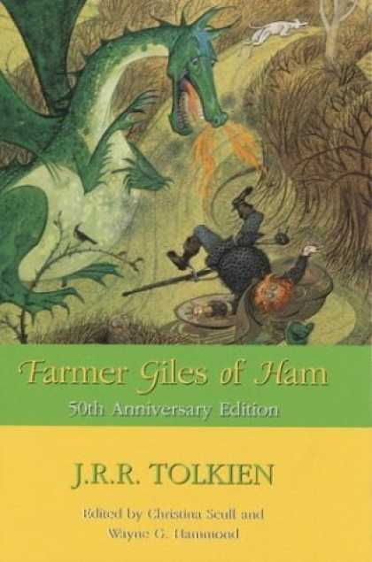 J.R.R. Tolkien Books - Farmer Giles of Ham : The Rise and Wonderful Adventures of Farmer Giles, Lord of