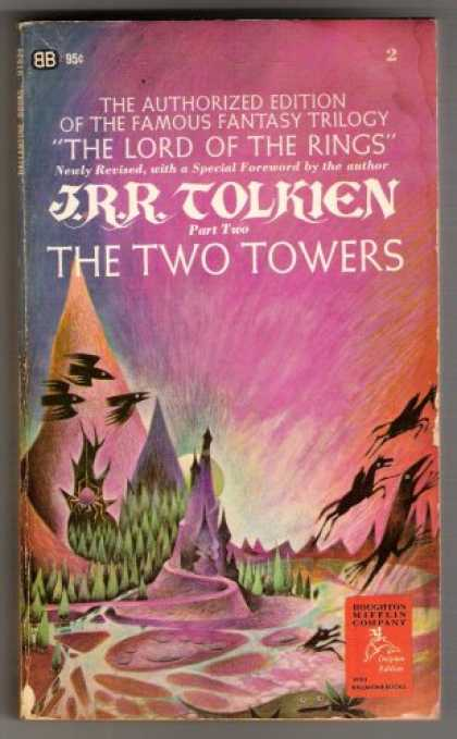 J.R.R. Tolkien Books - J.R.R. Tolkien Part Two The Two Towers (The Lord of The Rings, Part 2 of The Lor