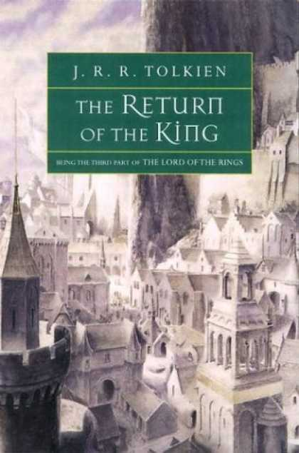 J.R.R. Tolkien Books - The Return of the King: Being the Third Part of The Lord of the Rings (The Lord
