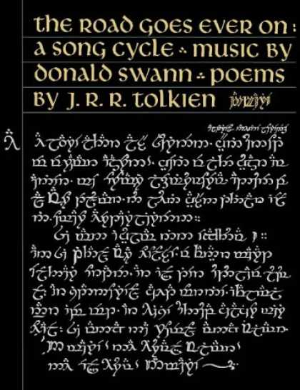 J.R.R. Tolkien Books - The Road Goes Ever on