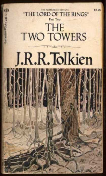 J.R.R. Tolkien Books - The Two Towers (The Lord Of The Rings Part Two: The Two Towers)