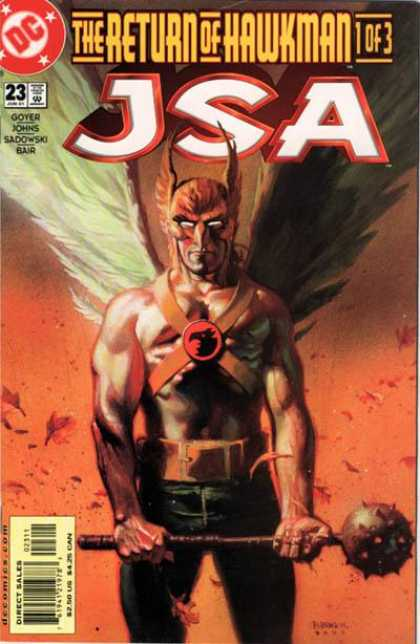 JSA 23 - Hawkman - The Return Of Hawkman - Approved By The Comics Code - Goyer - Johns