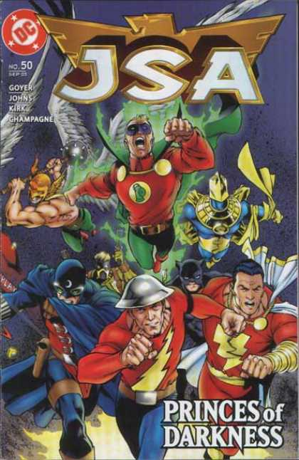 JSA 50 - Green Lantern - Princes Of Darkness - Justice Society Of America - Superheroes - Classic Action Superhero - Carlos Pacheco