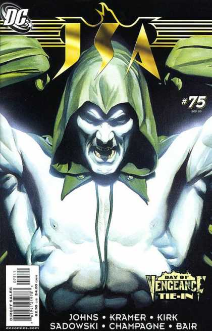 JSA 75 - The Day Of Vangeance - The Vangeance - The Angry Vangeance - No Turn - The Fearless - Alex Ross