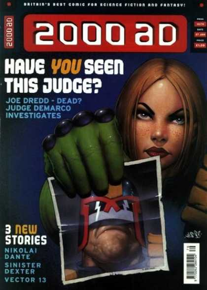 Judge Dredd - 2000 AD 1079 - Photo