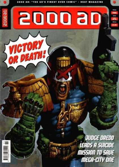 Judge Dredd - 2000 AD 1155 - Victory Or Death