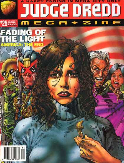 Judge Dredd Megazine III 25 - The End Is Near - One Chance - Must Fight The Fight - No More Waiting - By This Light I Beseech Thee
