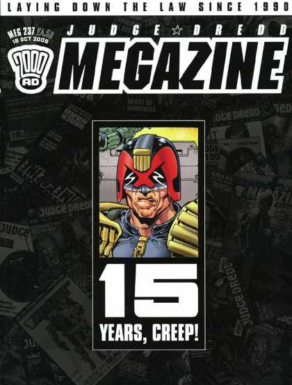 Judge Dredd Megazine IV 237 - Laying Down The Law - 15 Years - Monster - Creep - Since 1990