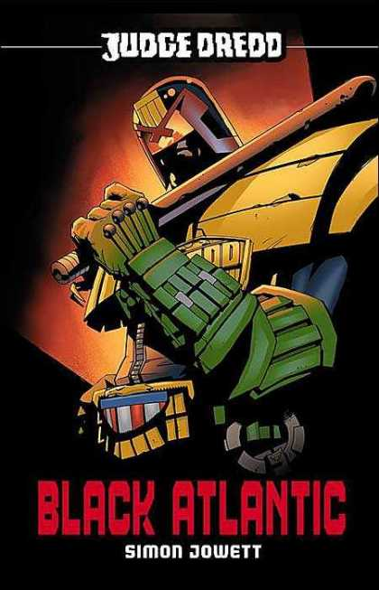 Judge Dredd 4 - Simon Jowett - Black Atlantic - Bat - Stick - Baton - Brian Bolland, Michael Oeming