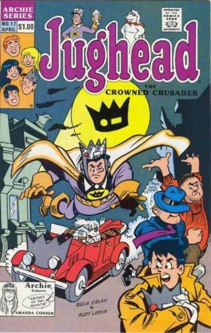 Jughead 2 17 - Gene Colan - Amanda Conner - Crown Signal - Automobile - Thieves