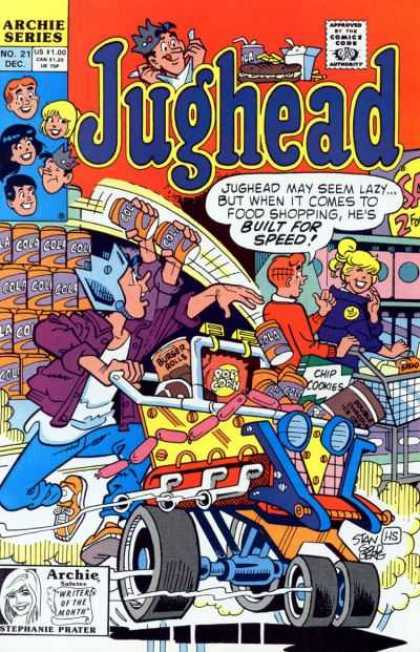 Jughead 2 21 - Grocery Store - Basket - Can - Hot Dogs - Cookies