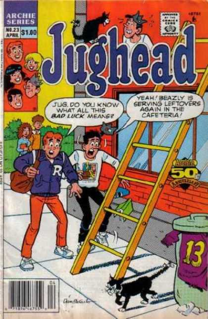 Jughead 2 23 - Archie - Bad Luck - Black Cat - Betty - Veronica