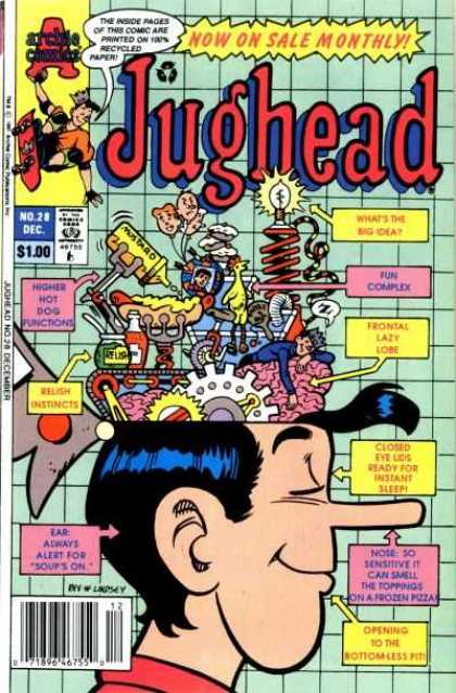 Jughead 2 28 - Jughead - Brain - Machines - Head - Wheels