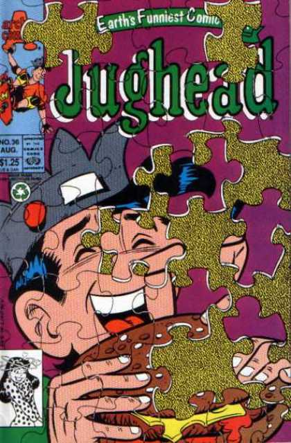 Jughead 2 36 - Puzzle Pieces - Veronica - Crown - Sandwich - Tongue