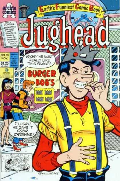 Jughead 2 39 - Crowns - Place - Burger Bobs - Four - Wink