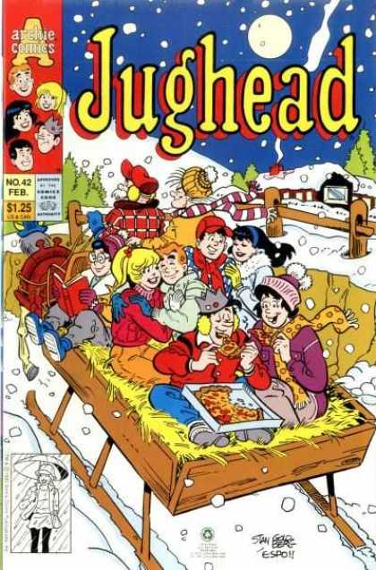 Jughead 2 42 - Archie - Hayride - Horse - Snow - Pizza