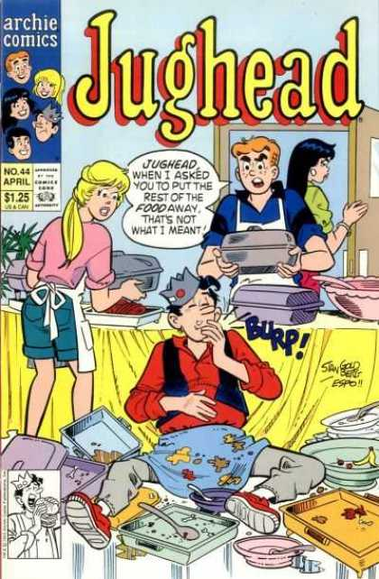Jughead 2 44 - Archie Series - Man - Woman - Approved By The Comics Code - April