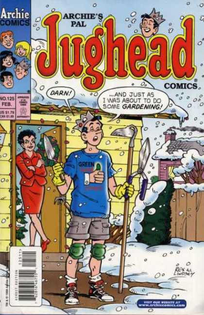 Jughead Comics 125 - Crown - Green Thumb - Spade - Hoe - Knee Pads