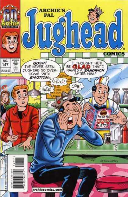 Jughead Comics 147 - Archies Pal - No147 - Approved By The Comics Code Authority - Glad - Book