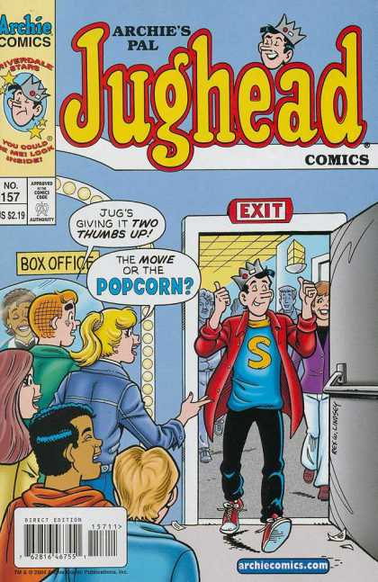Jughead Comics 157 - Movie - Popcorn - Two Thumbs Up - Box Office - Opinion