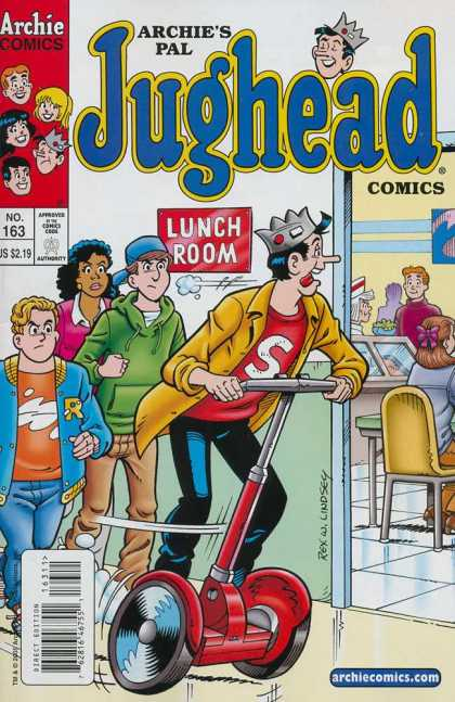 Jughead Comics 163 - The Archies Comics - The Real Burger King - Cutting In Line - Slick Segeway - The Only One To Eat School Lunches