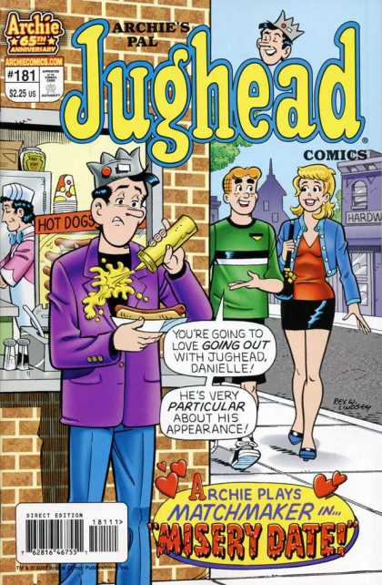 Jughead Comics 181 - 181 - Archies Pal - Misery Date - Mustard Stain - Archie