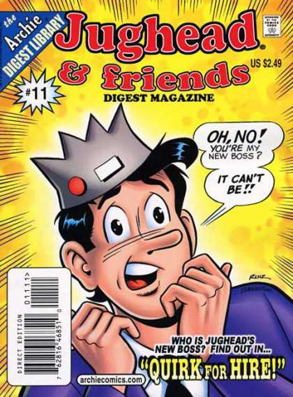 Jughead & Friends Digest 11 - Archie - Speech Bubble - Quirk For Hire - Fear - 11