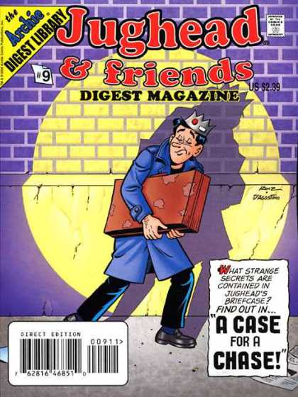 Jughead & Friends Digest 9 - Digest Magazine - Archi - A Case For A Chase - Box In A Hand - Digest Library