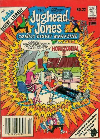 Jughead Jones Digest 22 - Archie - Betty - Jughead - Television - Back Yard