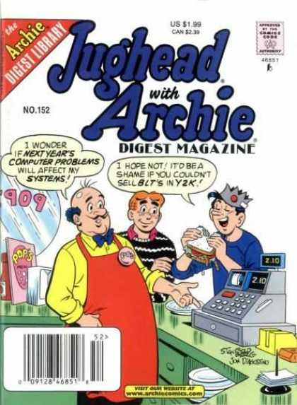 Jughead with Archie Digest 152