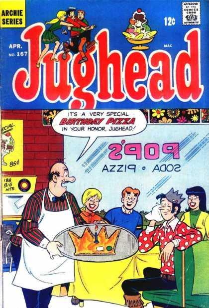 Jughead 167 - Ah Pops You Shouldnt Have - Cheers To The Birthday Boy - Crown - Wild Shirt - Friends