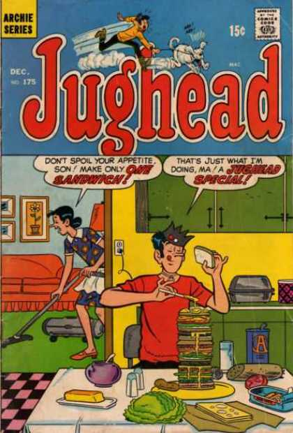 Jughead 175 - Special - Tall Sandwich - Vacuum Cleaner - Mom - Kitchen