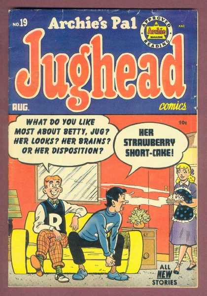 Jughead 19 - Boys - Girl - Living Room - Couch - Cake