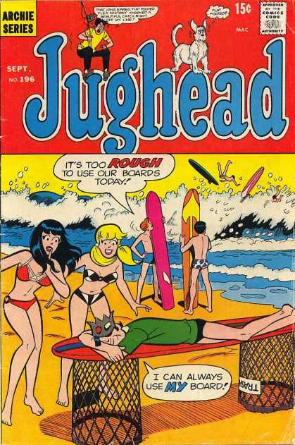 Jughead 196 - Beach - Surf - Girls - Teen - Fun