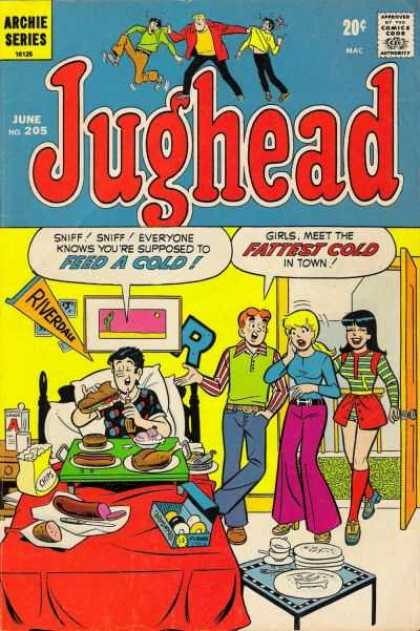 Jughead 205 - Riverdale - Archie - Fattest Cold - Feed A Cold