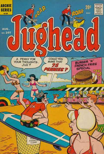 Jughead 207 - Roar - Vaccum - Archie Series - 75 Pennies - Water