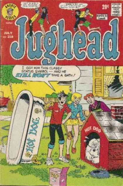 Jughead 218 - Hot Dog - Dog - Dog House - Bath - Yard
