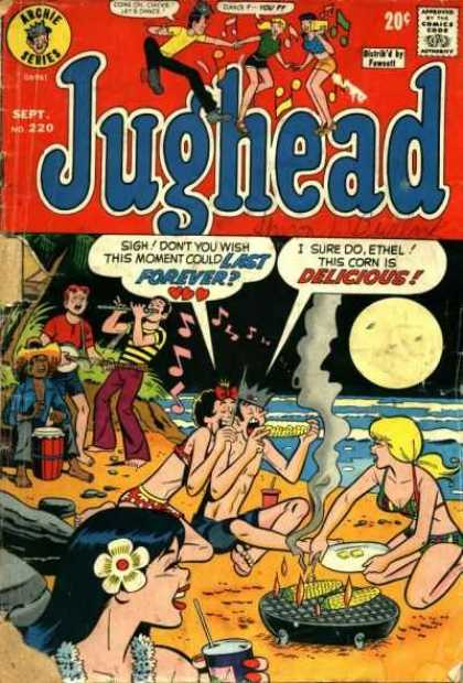Jughead 220 - 20c - Sept No 220 - Archie Series - Comics Code A