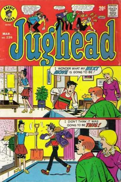 Jughead 226 - Snow - Shovel - Archie - Checkers - Window