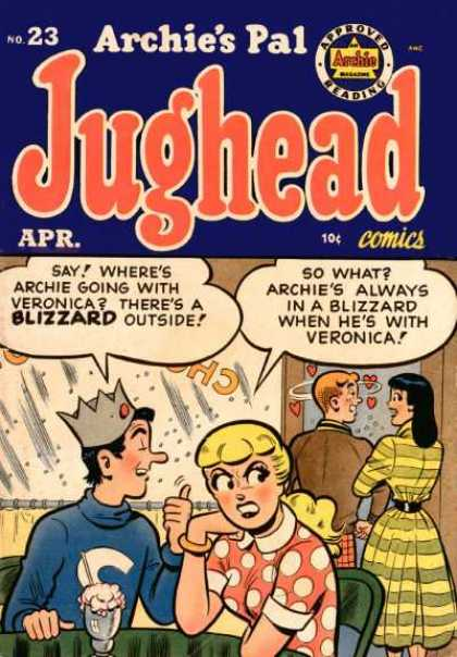 Jughead 23 - Betty - Veronica - Blizzard - Snow - Ice Cream