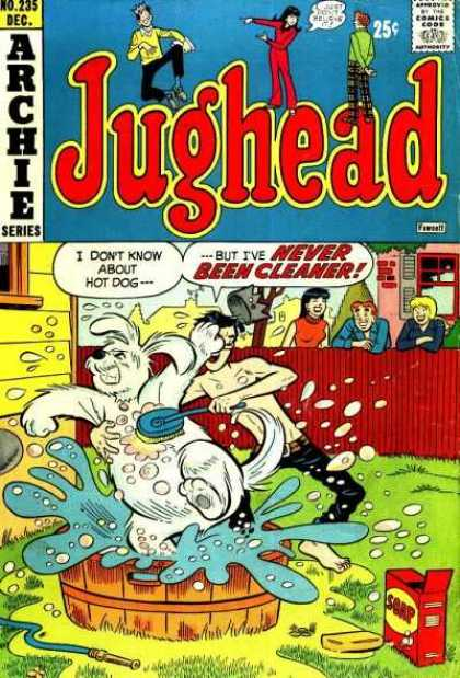 Jughead 235 - Archie U0026 Reggie - Betty U0026 Veronica - Dog Washing - Brush - Soap