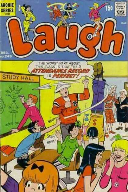 Jughead 249 - Archie Series - Attendance Record - Study Hall - The Worst Part About - Perfect