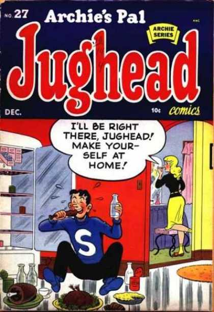 Jughead 27 - Refridgerator - Chicken - Eating - Make-up - Getting Ready