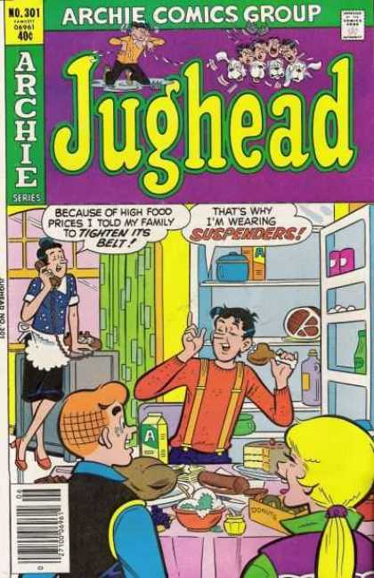 Jughead 301 - Archie - Betty - Kitchen Table - Food - Mom