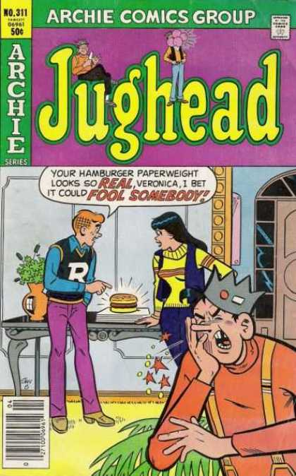 Jughead 311 - Betty Cooper - Riverdale - Crown - Hamburger - Spin Off